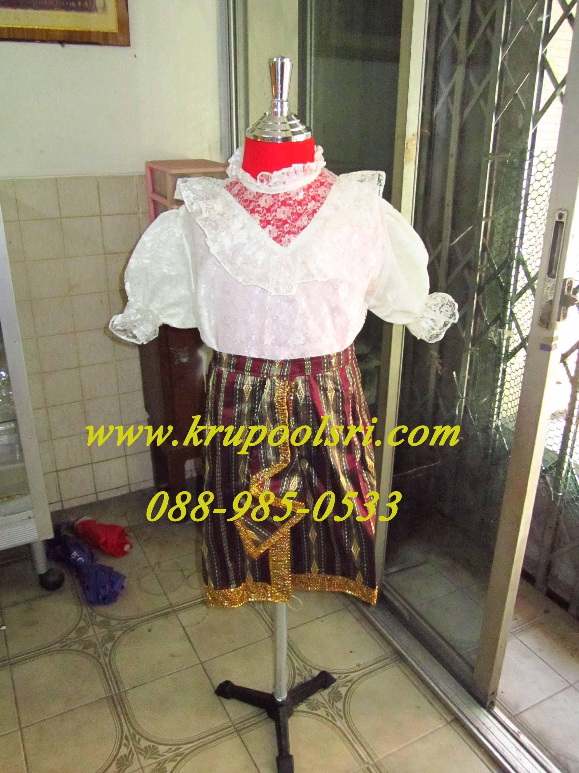 ชุดเด็ก หญิง- กัมพูชา