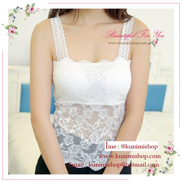 สื้อซับใน เสื้อกล้าม เสื้อกล้ามลูกไม้ เสื้อกล้ามสีขาว เสื้อกล้ามสีดำ เสื้อกล้ามราคาไม่แพง เสื้อกล้ามน่ารัก