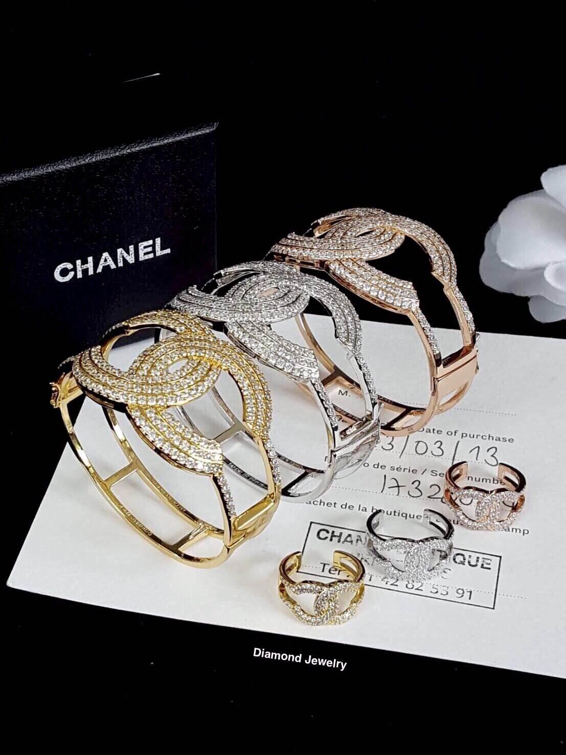 พร้อมส่ง Chanel Bangle & Ring