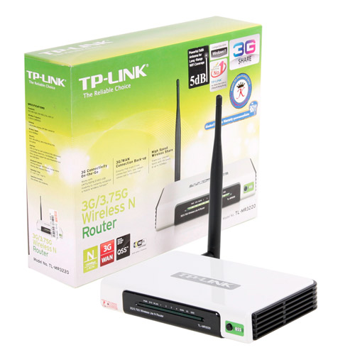 TP-LINK 150Mb Wireless Router 3G. (TL-MR3220)