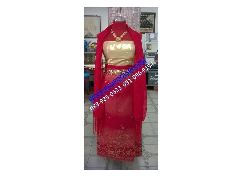 ชุดพม่า หญิง 34