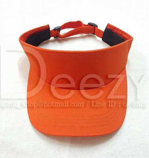 หมวกกอล์ฟสีส้ม