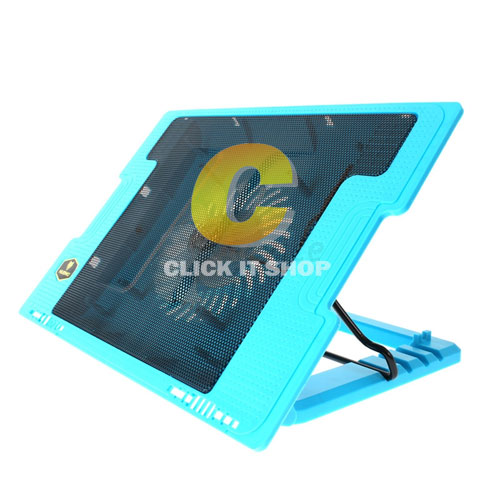 Cooler Pad NUBWO NF39 Clyde (1 Fan) Blue