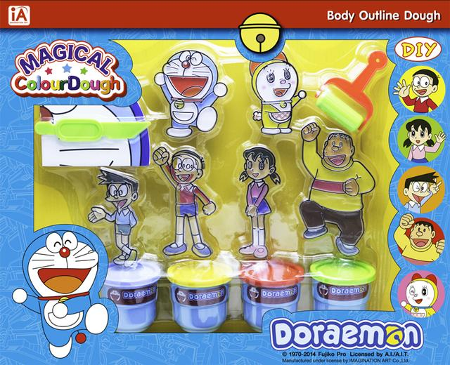 Doraemon โมเดลแป้งโดว์ ชุดโดราเอม่อน