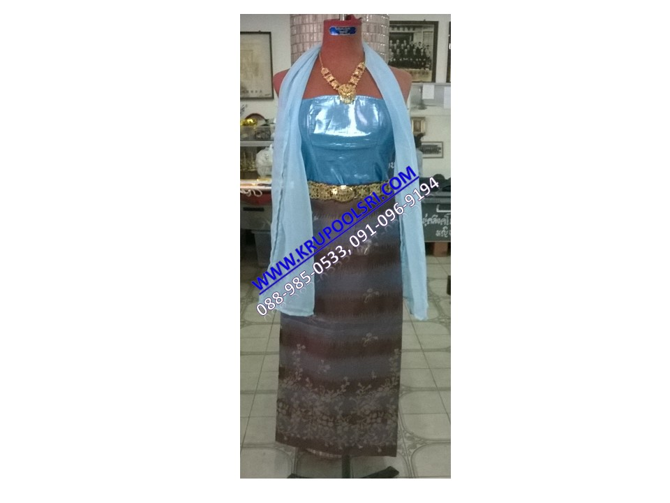 ชุดพม่า หญิง 31
