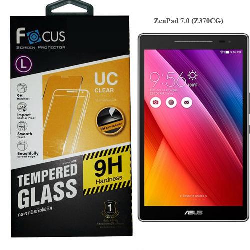 โฟกัส ฟิล์มกันรอยมือถือ ฟิล์มกระจกนิรภัยโฟกัส ZenPad 7.0 Z370CG เซนแพด