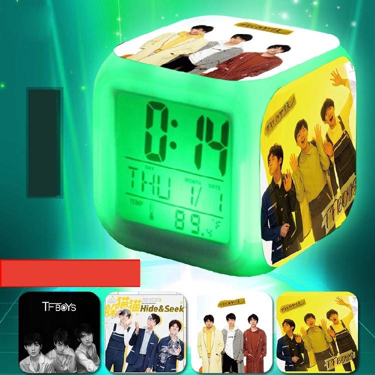 นาฬิกาปลุก ดิจิตอล TFBOYS