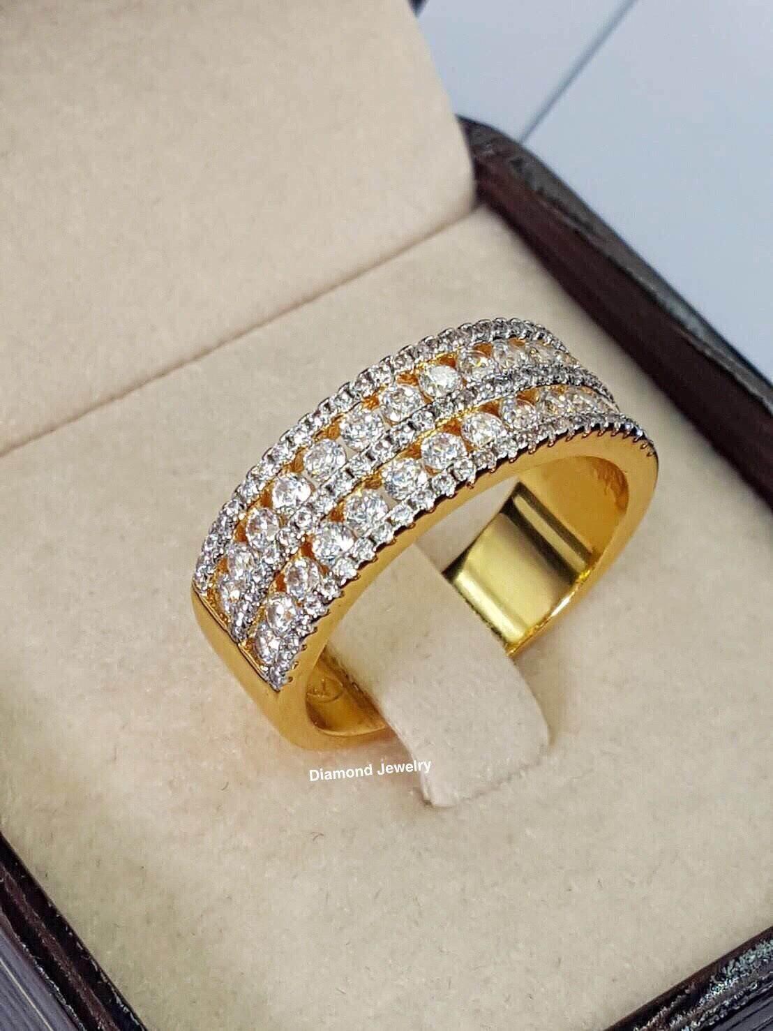 พร้อมส่ง Chopard Ring แหวนเพชรแบรนด์โชพาร์ด