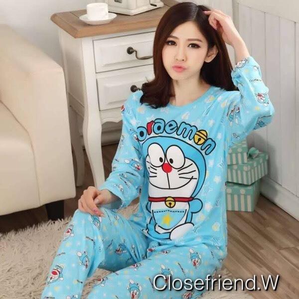เสื้อผ้าเกาหลี พร้อมส่ง ชุดนอนแบรนด์ดัง Disney