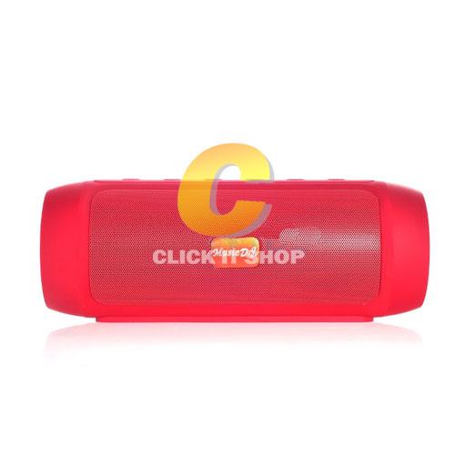 ลำโพง Music D.J. Bluetooth (D-128) Red