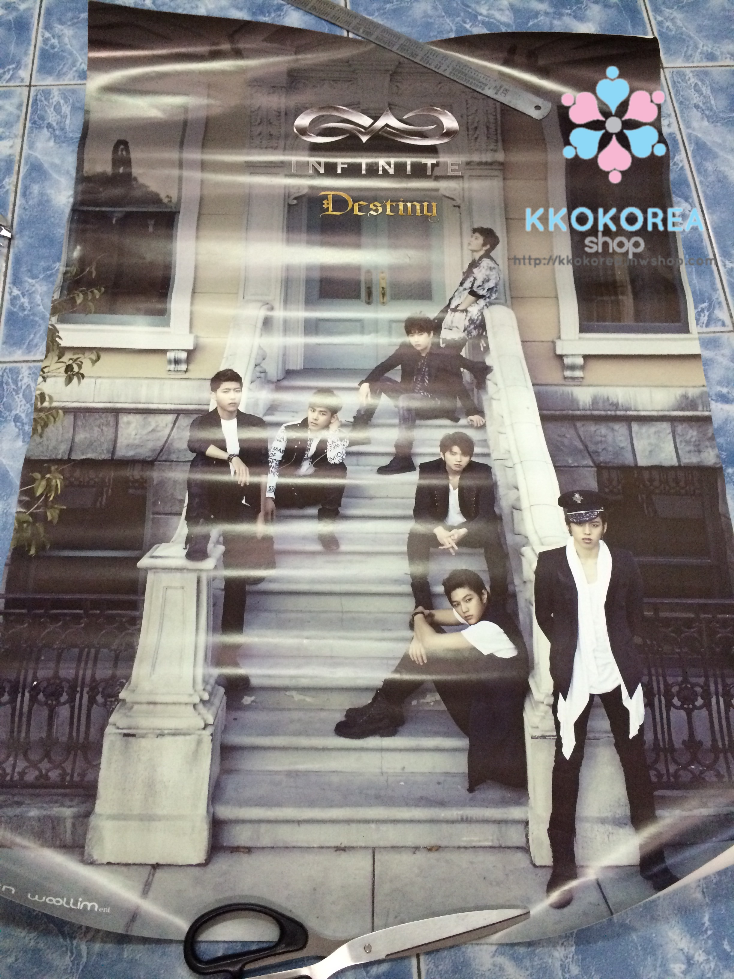 [Poster พร้อมส่ง 1 ใบ] Infinite : 2nd Single - DESTINY