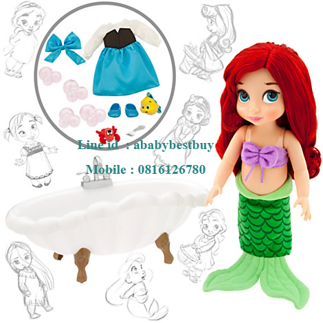 Disney Animators' Collection Ariel Doll Deluxe Gift Set - 16''