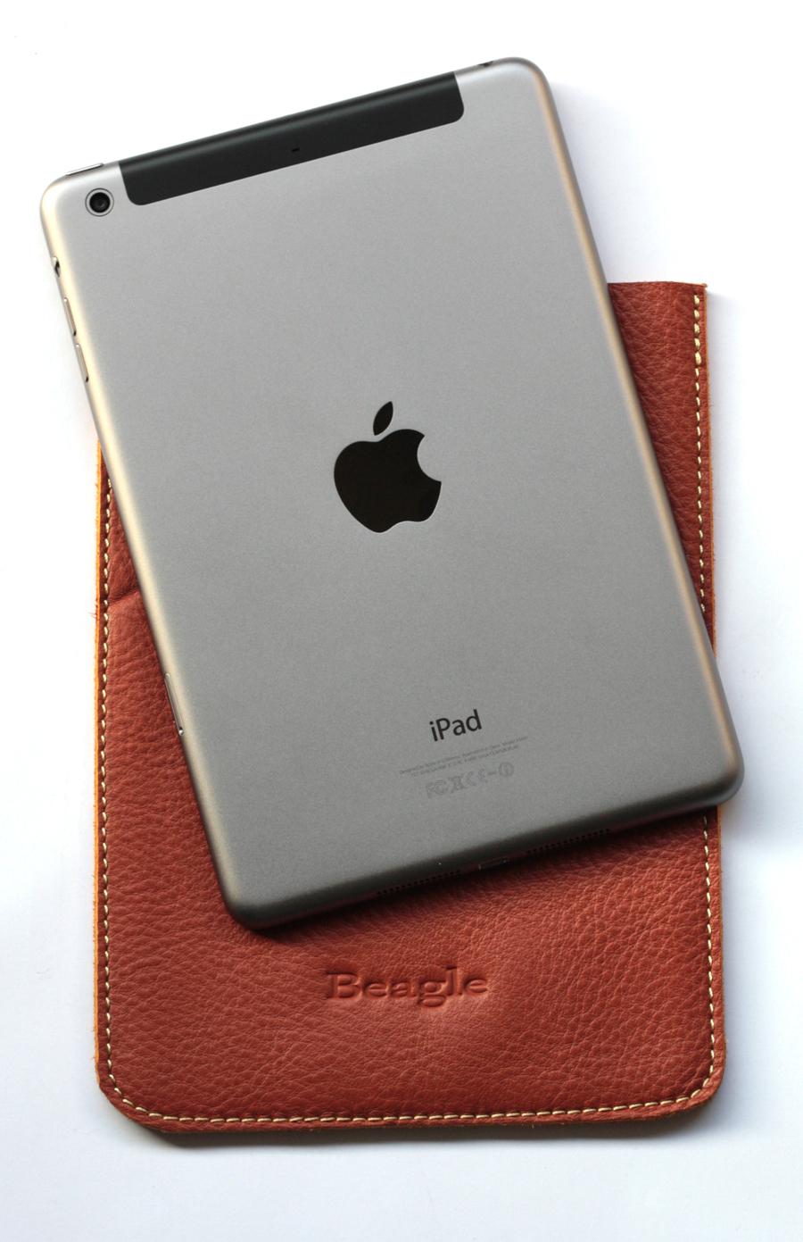 ซองหนังแท้ Beagle for iPad Mini หนังนิ่ม น่าใช้