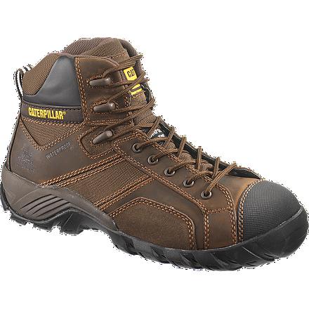 รองเท้า หัวเหล็ก Men's Caterpillar Argon High Composite Dark Brown Steel Toe Size 39-45