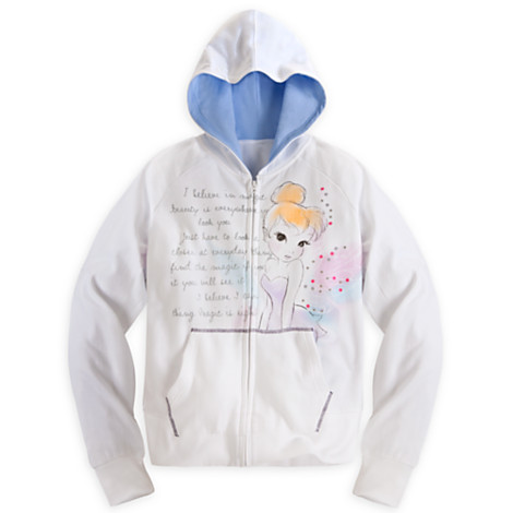 z Tinker Bell Hoodie for Women (size5-6year)