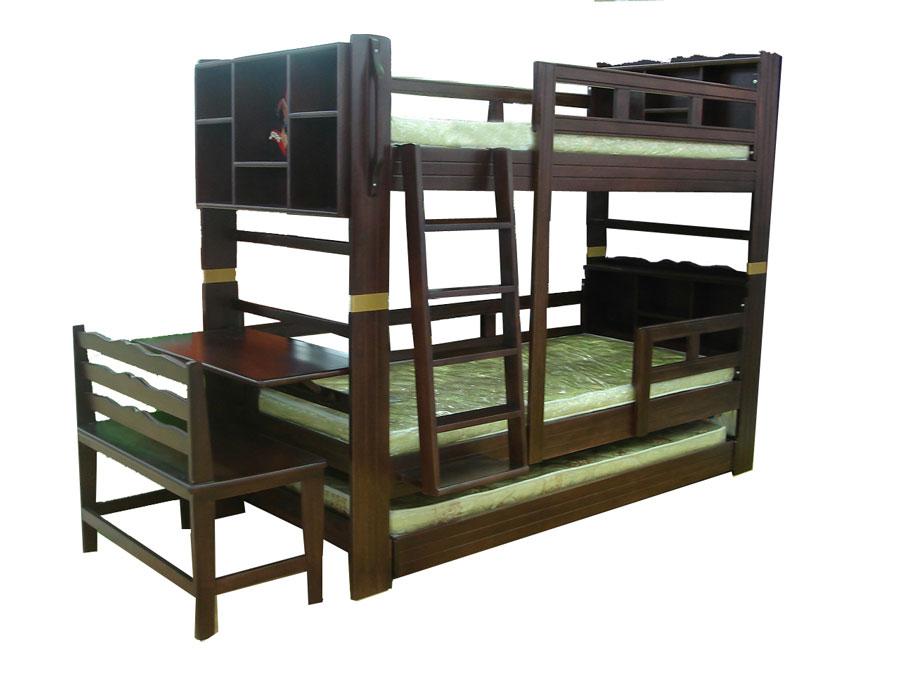 เตียง 3 ชั้น แบบยุโรป