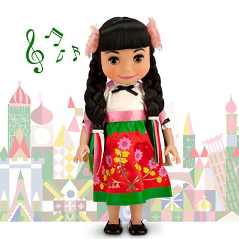 z Disney ''it's a small world'' Maxico Singing Doll - 16'' (พร้อมส่ง)