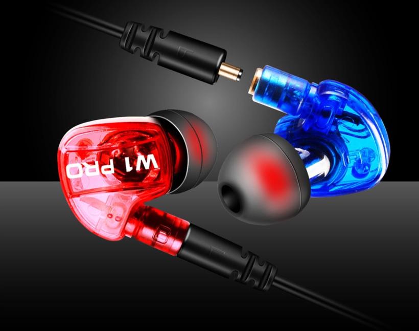 W1Pro headset plug-in sports headphones HIFI sound