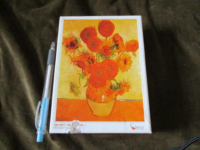 จิ๊กซอว์ Vase with fourteen sunflowers