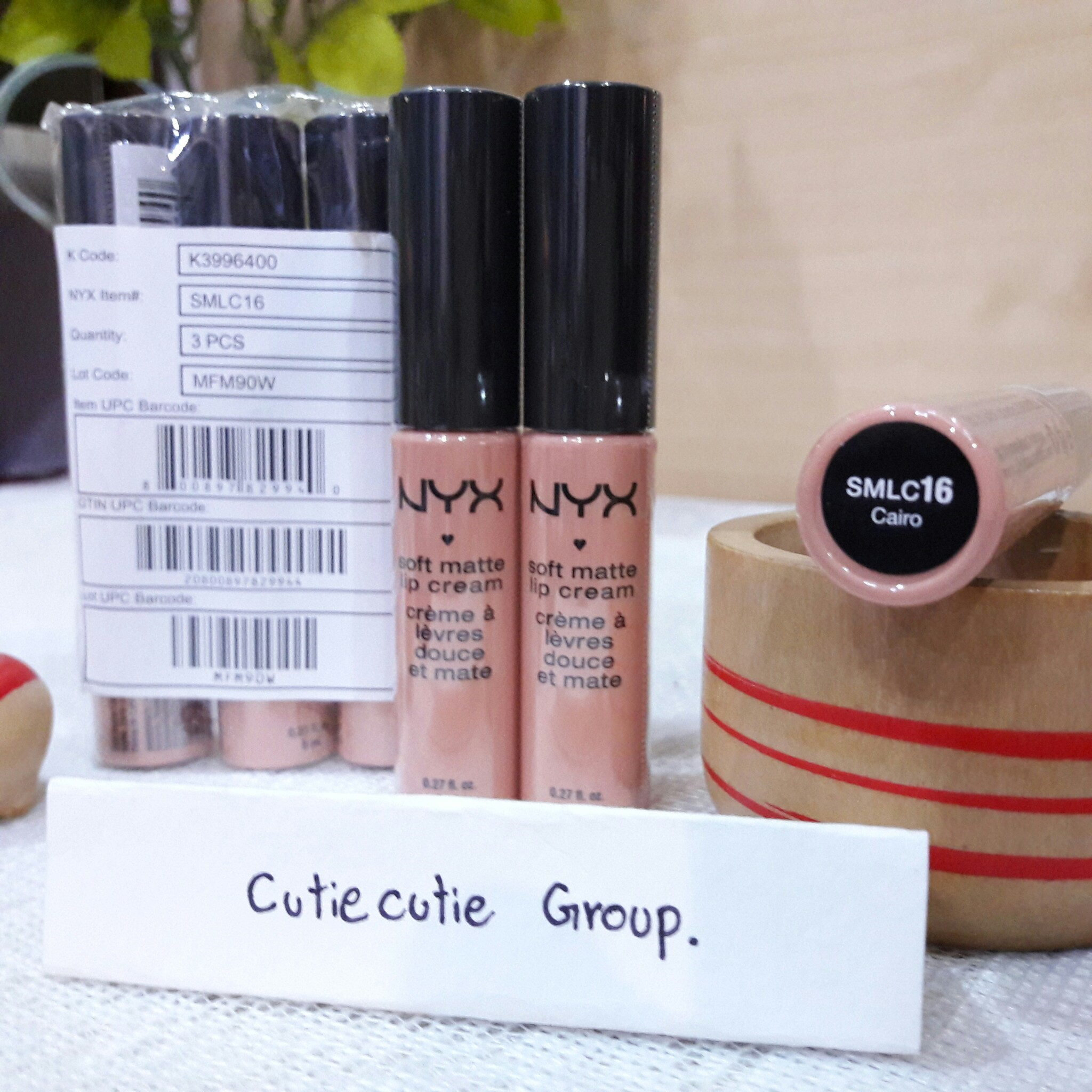 16 Clair NYX Soft Matt Lip Cream