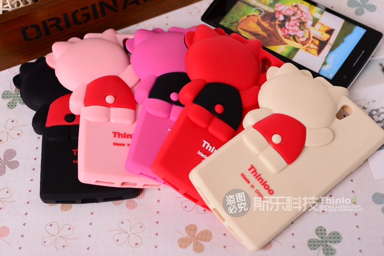 Oppo Find 5 Mini -Kitty silicone Case [Pre-Order]