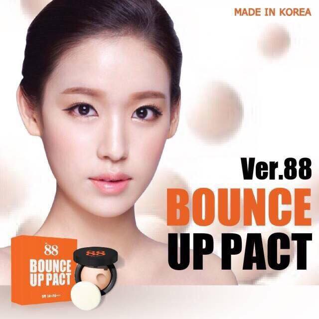 Ver.88 Bounce Up Pact แป้งดินน้ำมัน ขนาด 12 กรัม