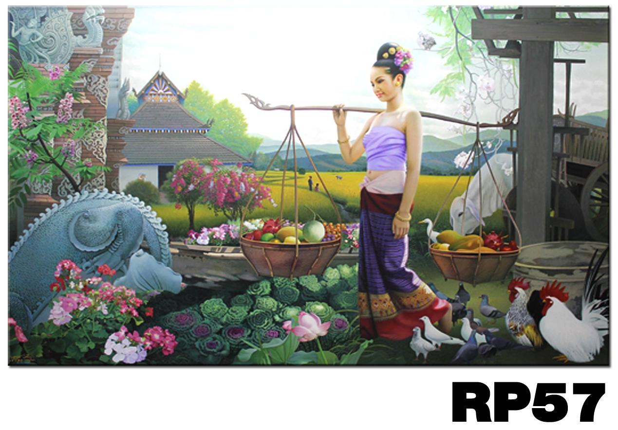 ภาพสำหรับประดับตกแต่งบ้าน ร้านสปา คอนโด โรงแรม รีสอร์ท RP - 57