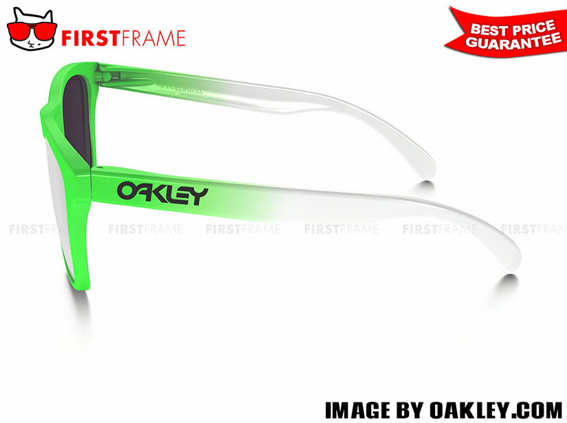 OAKLEY OO9245-37 FROGSKINS GREEN FADE EDITION (ASIA FIT) 3