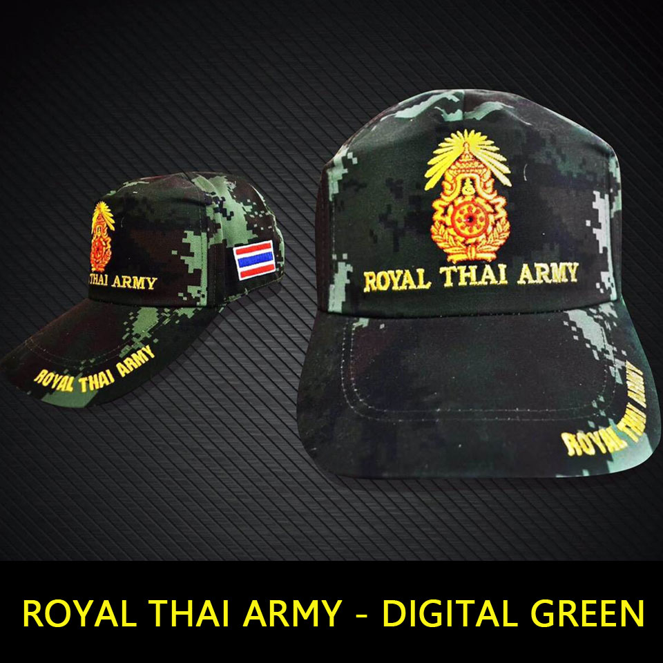 หมวกแก็ป Royal Thai Army พราง