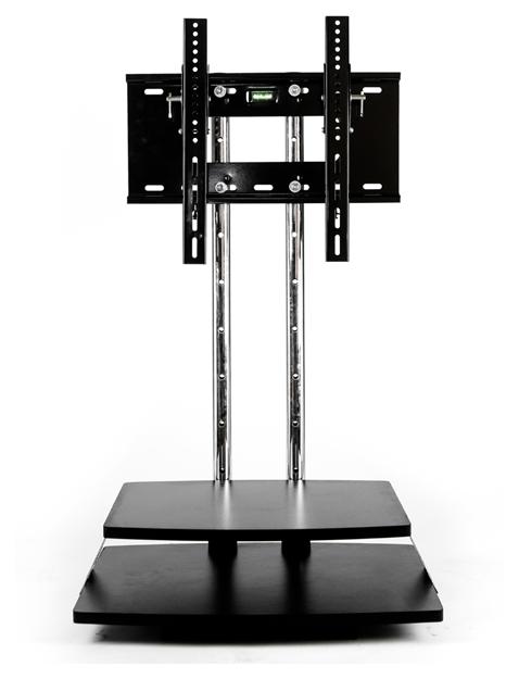 ขาตั้งทีวี 2ชั้นวาง สีดำ (รองรับทีวี ขนาด 29-50 นิ้ว) 001868M8e