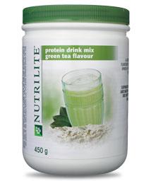 นิวทริไลท์ กรีนที โปรตีน 450 กรัม Green Tea Nutri-Protein