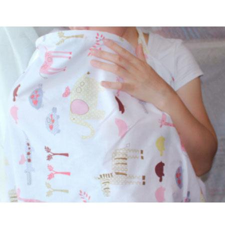 Elephant Breastfeeding cover ผ้าคลุมให้นม ลายช้าง