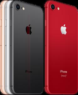 Apple iPhone 8 (PRODUCT)RED (2018) แอปเปิ้ล ไอโฟน 8 ขนาด 64 GB RAM 2GB
