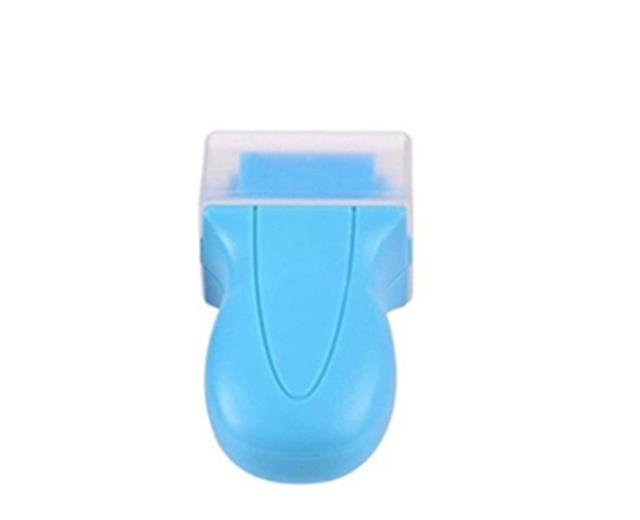 ลูกกลิ้งทำความสะอาดหน้าจอมือถือสีฟ้า