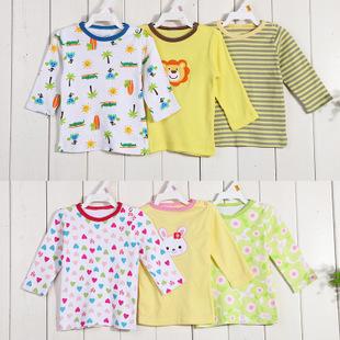 พร้อมส่ง เสื้อผ้าเด็กทารก เสื้อยืดแขนยาว ใส่นอนในห้องปรับเอร์ รหัส T-66006 ขายส่งชุดทารกเพศหญิงยกแพ็คสุ่มแบบ 5 ชุด ไซร์ 3 M (เด็ก 0-3 เดือน ) /1 แพ็ค 5 ชุด ชุดละ 110 บาท