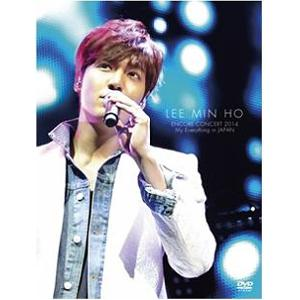 (DVD) Lee Min Ho - Encore Concert / 2014 My Everything In Japan (2DVD+72p Photo Book)