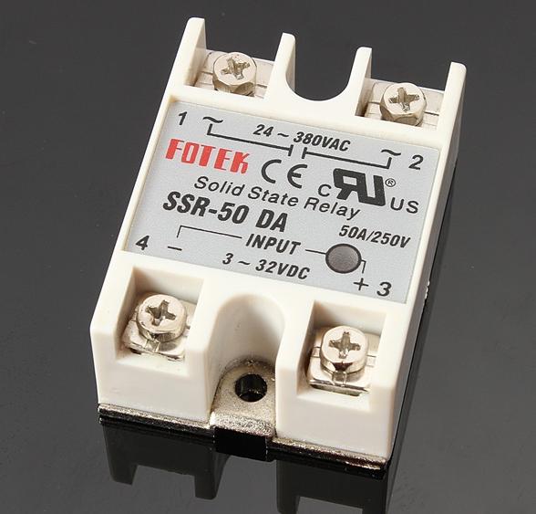 Fotek Solid State Relay (SSR) 50A