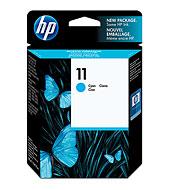 HP 11 ตลับหมึกอิงค์เจ็ท สีฟ้า ของแท้ Cyan Original Ink Cartridge (C4836A)