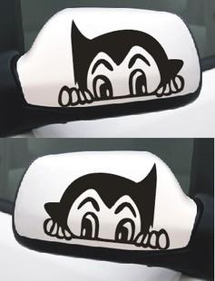 สติ๊กเกอร์ติดกระจกมองข้างรถ Astro Boy สีขาว(ภาพแทน) (1Pack/2ชิ้น)