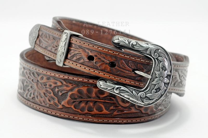 เข็มขัดหนังแท้ (Leather belt)
