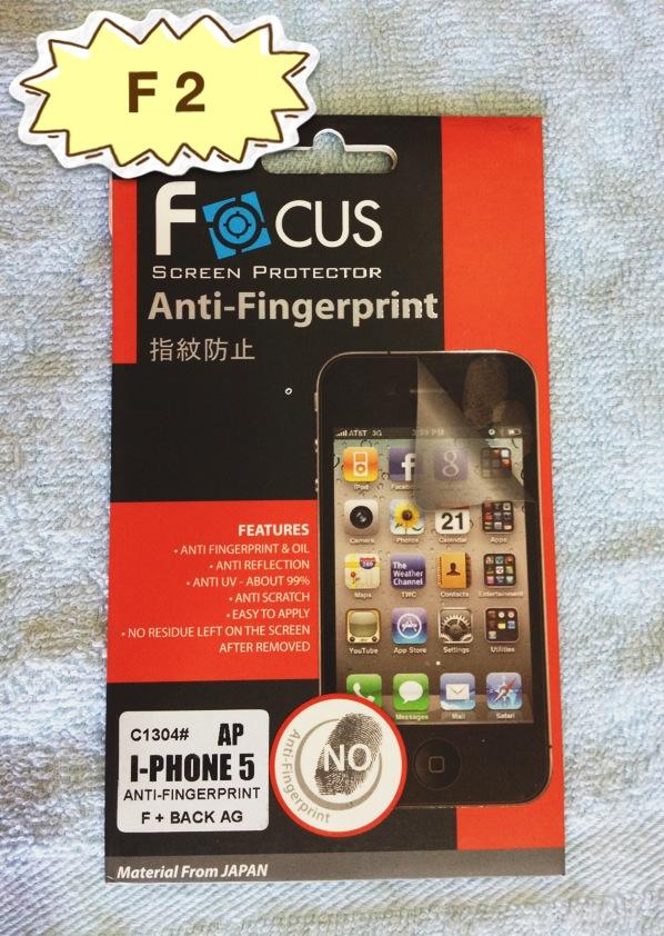 ฟิล์มกันรอย แบบด้านไอโฟน 5 ยี่ห้อ Focus ลดรอยนิ้วมือ