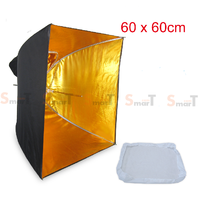 Umbrella softbox 60cm Gold