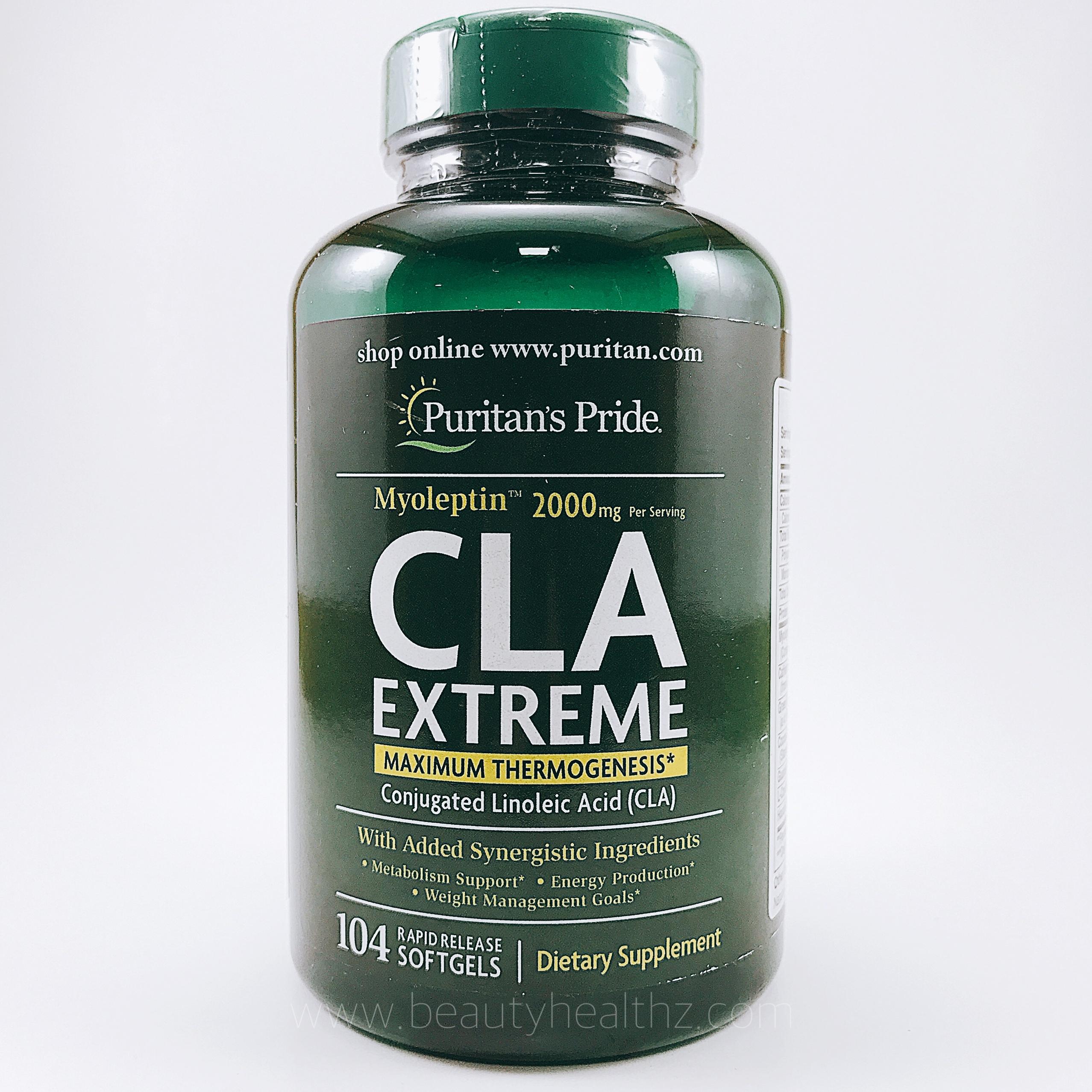 Puritan's Pride, Myoleptin™ CLA Extreme 104 Softgels