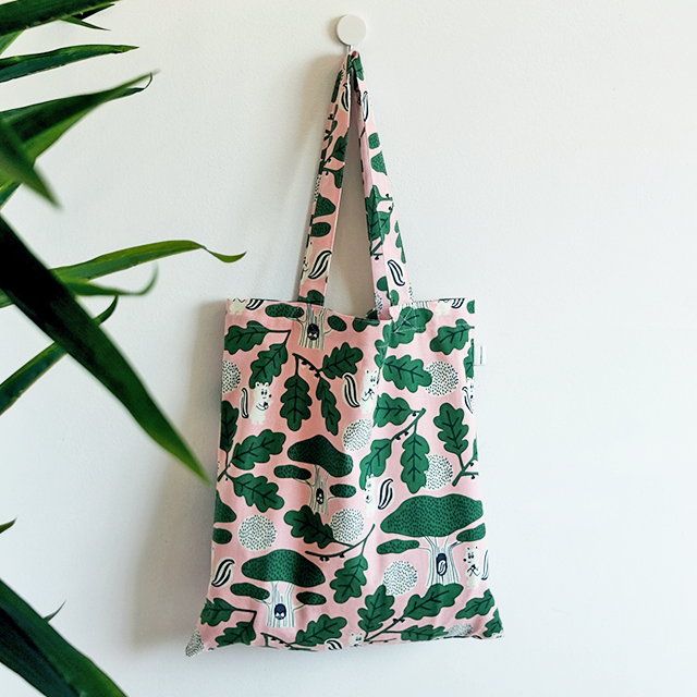 JEAN PAUL IN FOREST PINK ECO BAG V6