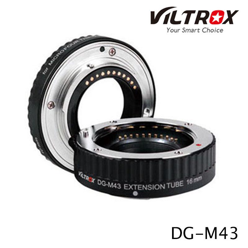 Viltrox DG-M43 Automatic Extension Tube Set Panasonic/Olympus mirrorless camera