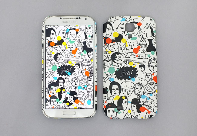 ALL STAR SNAP CASE FOR GALAXY S4