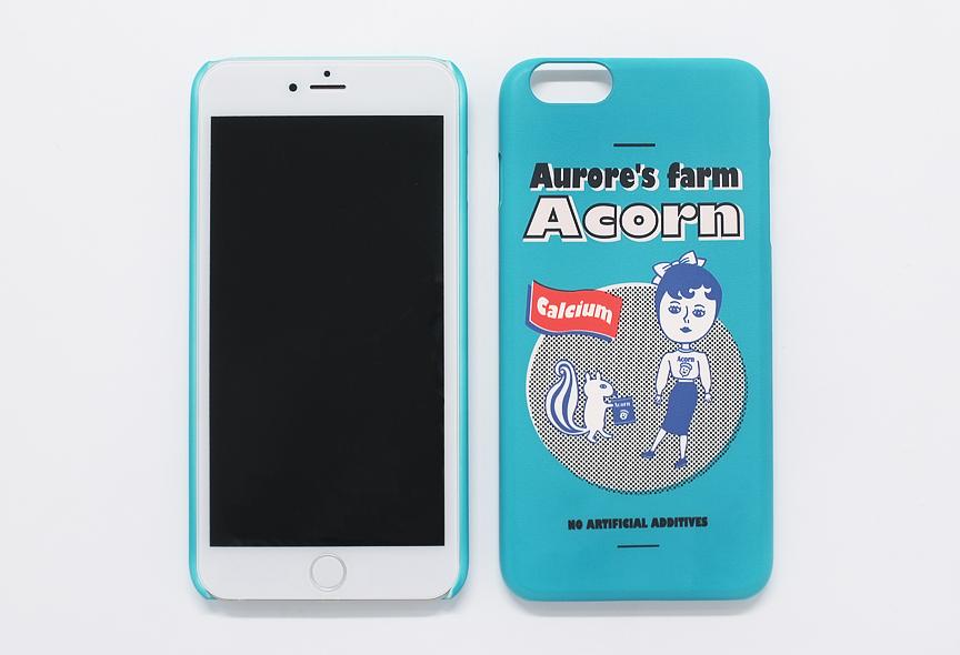 AURORE ACORN IPHONE 6 PLUS SNAP CASE
